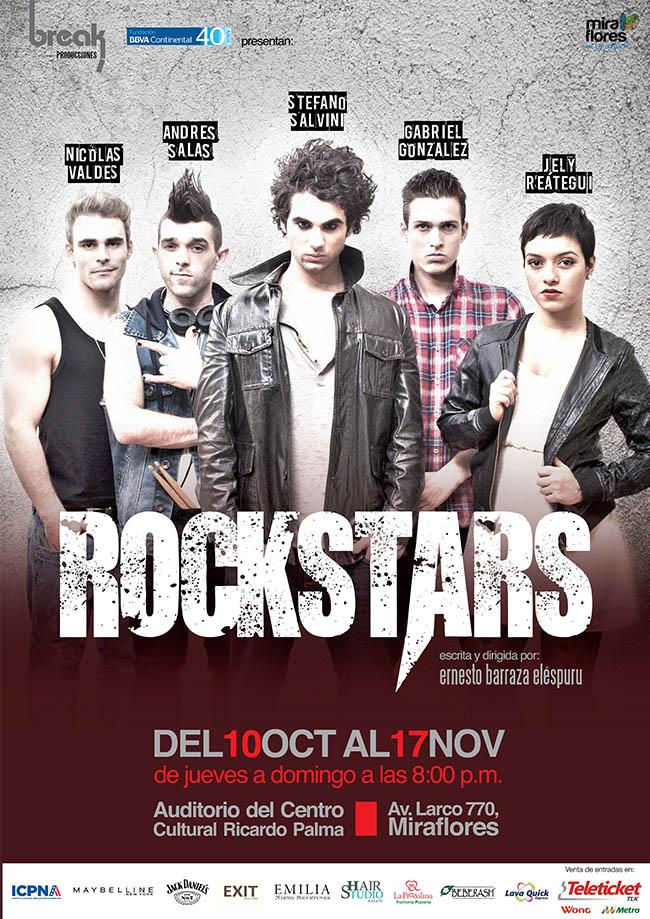 afiche rockstars